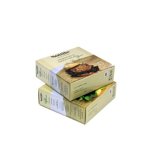 Caixa  hamburguer congelado  ( mod Sotille P)