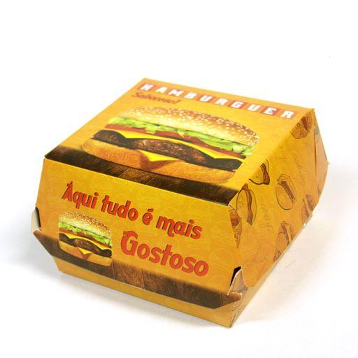 Hambúrguer Fechado 50 Unidades