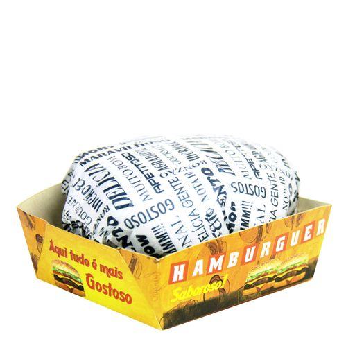 Hambúrguer Aberto 50 Unidades