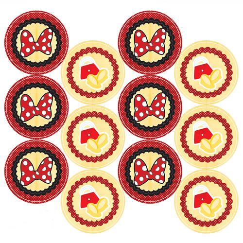 Adesivo-decorativo-para-festa-25cm---Ratinha-Vermelha---36-unidades
