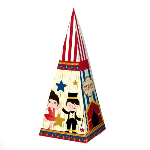 Embalagem-Caixa-Piramide---Circo---10-unidades