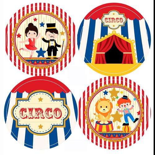 Adesivo-decorativo-para-festa-50cm---Circo---20-unidades