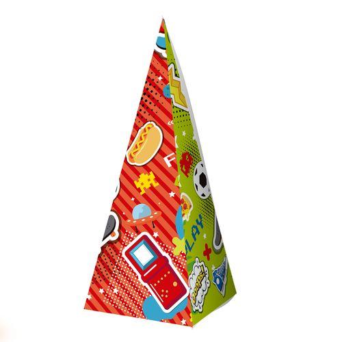 Embalagem-Caixa-Piramide---Games---10-unidades