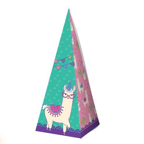 Embalagem-Caixa-Piramide---Lhama---10-unidades