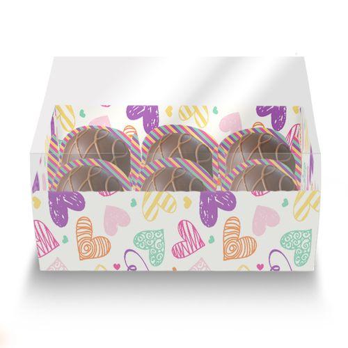 Embalagem-Caixa-de-Bombom-06-forminhas---For-Girl---com-tampa-de-acetato---10-unidades