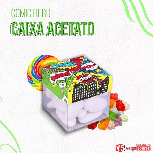 Embalagem-Caixa-de-Acetato-Festa-Comic-Hero-pacote-com-10-unidades