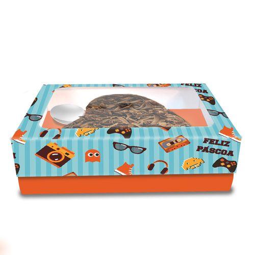 Embalagem-Caixa-Berco-para-Ovo-Coracao---Visor-Acetato---For-Boy-250g---10-uni